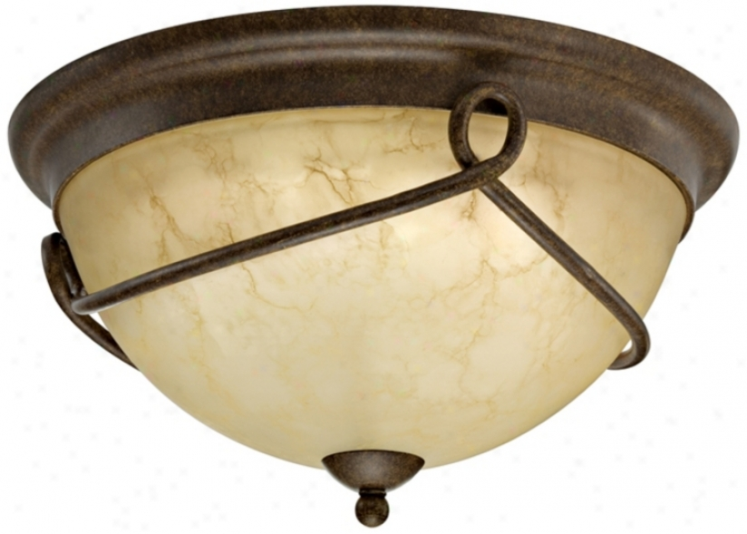"Florentine Collection Energy Star 14 3/4"" Wide Ceiling Light (h9610)"