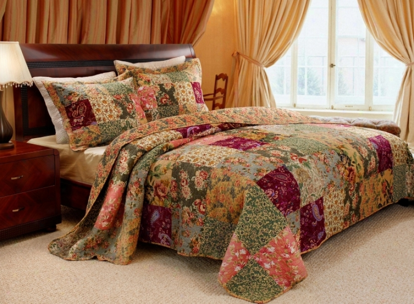 Flowering Gardens 3-piece Bed Set (k3245)