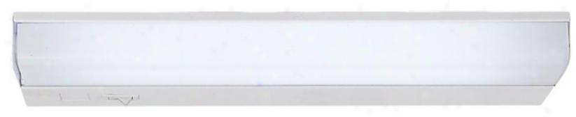 """Fluorescent 24"""" Wide Show Wire Under Cabinet Light (79843)"""