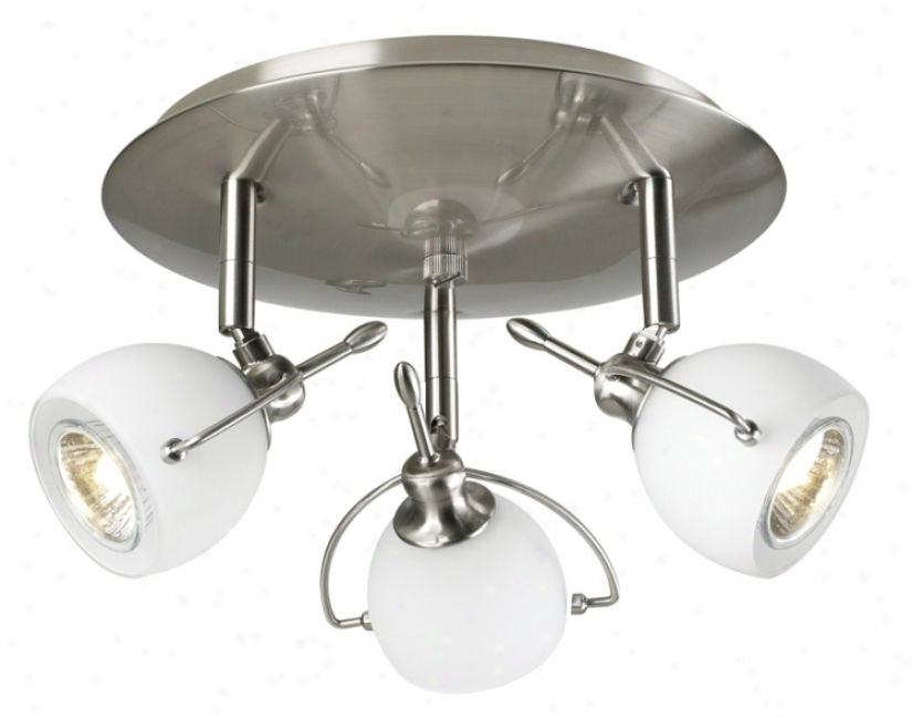 "Focus Contemporary 12"" Wide Ceiling Light Fixture (16515)"