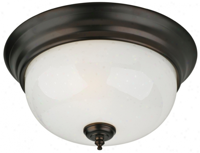 "Forecast Calera Collection 13"" Wide Ceiling Light Fixture (g5093)"