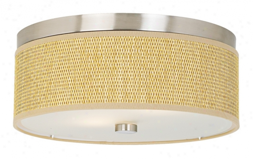 Forecast Cassandra Collection 1&5quot; Natural Ceiling Light (g4884)