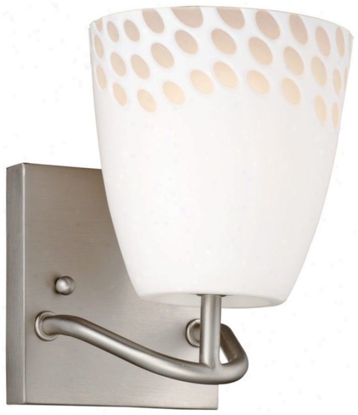 "Forecast Daybreak Collection 6 3/4"" High Wall Sconce (g5648)"