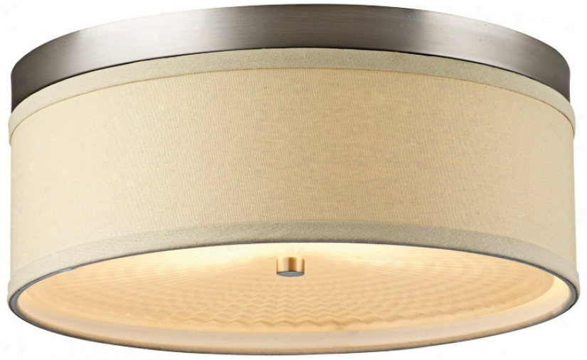 "Forecast Embarcadero Collection 15"" Vanilla Ceiling Fixture (39213)"