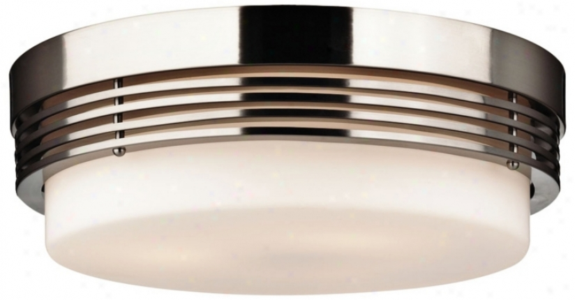 "Forecast Hope Collection 14"" Wide Ceiling Light Fixture (g5086)"