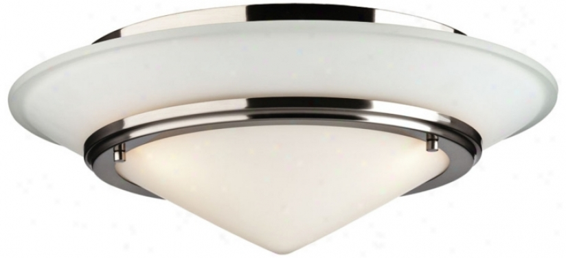 "Forecast Rgeatta Collection 18 1/2"" Wide Ceiling Light (g5082)"