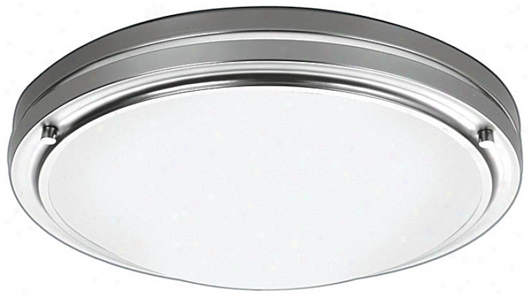 "Forecast Satin Nickel 133 1/2"" Wide Ceiling Light Fixture (06814)"