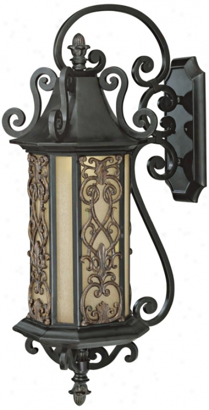 "Forsyth Collection 40 1/2"" High Outdoor Wall Light (j6981)"