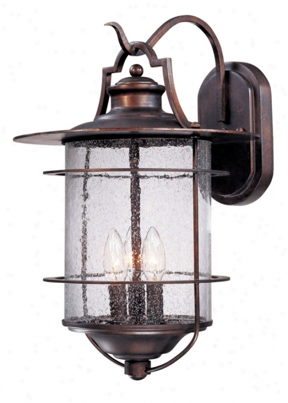 "Franklin Iron Works Casa Mirada 19 1/2"" High Outdoor Light (51293)"