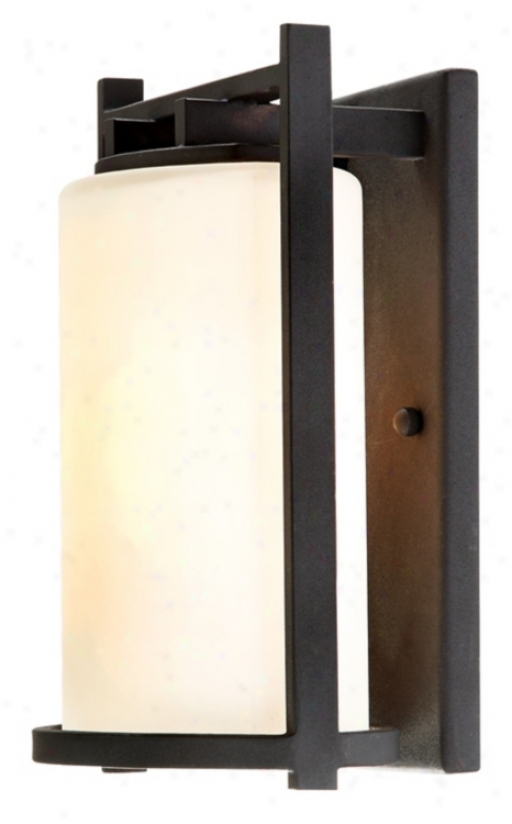 "Franklin Iron Works Mayywood 12"" High Outdoor Wall Light (01292)"