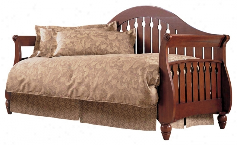 Fraser Walnut Wood Twin Daybed (p8346)