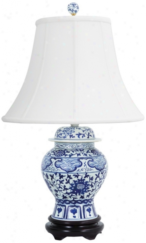 Frederick Cooper Indigo Garden Table Lamp (n9492)