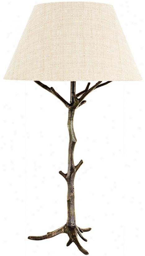 Frederick Cooper Spfig's Promise Ii Bronze Table Lamp (g7566)