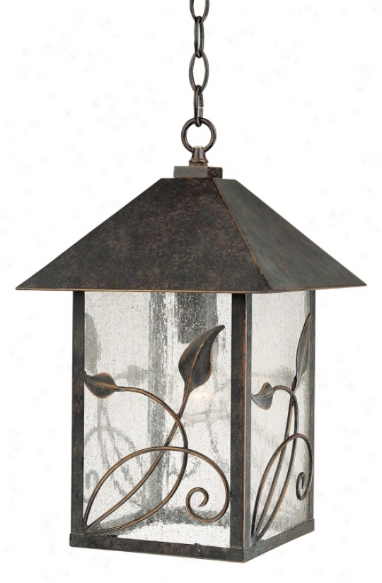 "French Garden Collection 15"" Proud Hanging Outdoor Light (71031)"