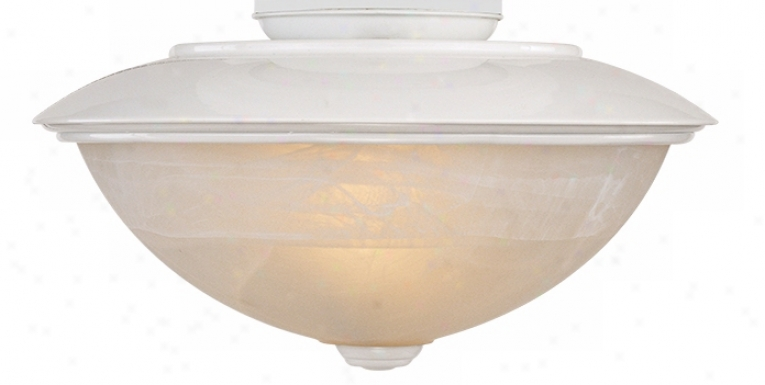 Frosted Glass Outdoor White Light Kit (60821)