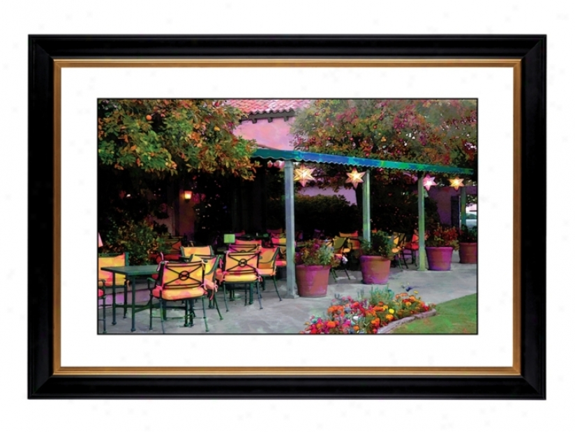 "Garden Giclee 41 3/8"" High Wall Art (18511-80384)"