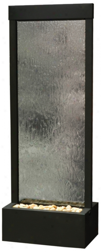 "Gardenfall Black Oxide 72"" High Fountain (f8971)"