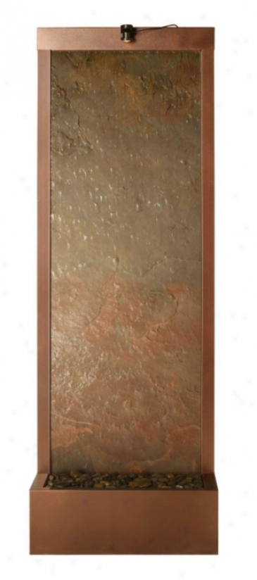 Gardenfall Da5k Copper Raja Slate Indoor/outdoor Fountain (f8979)