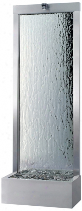 Gardenfall Stainless & Silver Mirror Indopr/outdoor Source (t1621)