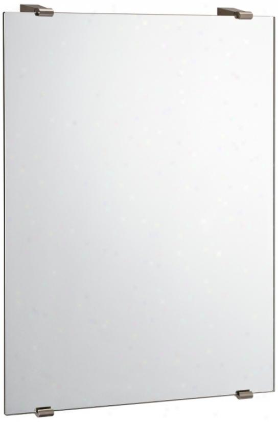 "Gatco Bleu 30 3/4"" High Rectangular Wall Mirror (p6575)"