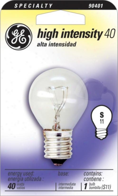 Ge 40 Watt High Intensity Bulb (90401)