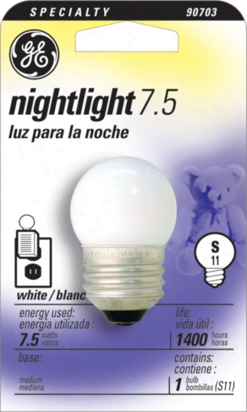 Ge 7.5  Watt Night Light Bulb (90703)