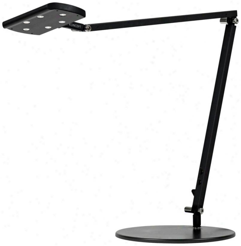 Gen 2 Icelight Metallic Black Dayligbt Led Desk Lamp (k9445)