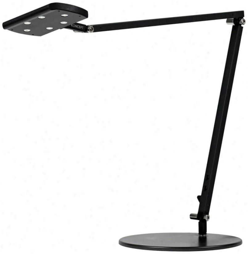 Gen 2 Icelight Metallic Black War White Led Desk Lamp (k9446)