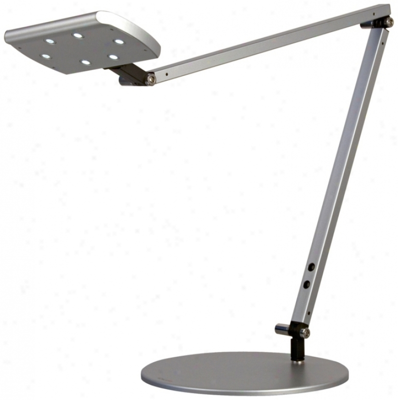 Gen 2 Icelighg Silver Finish Warm White Led Desk Lamp (k9447)