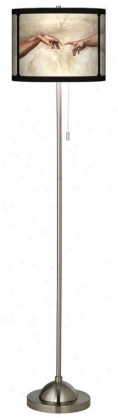Genesis Giclee Sahde Floor Lamp (99185-m7085)