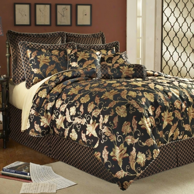 Middle class 14-piece King Bed Set (h6128)
