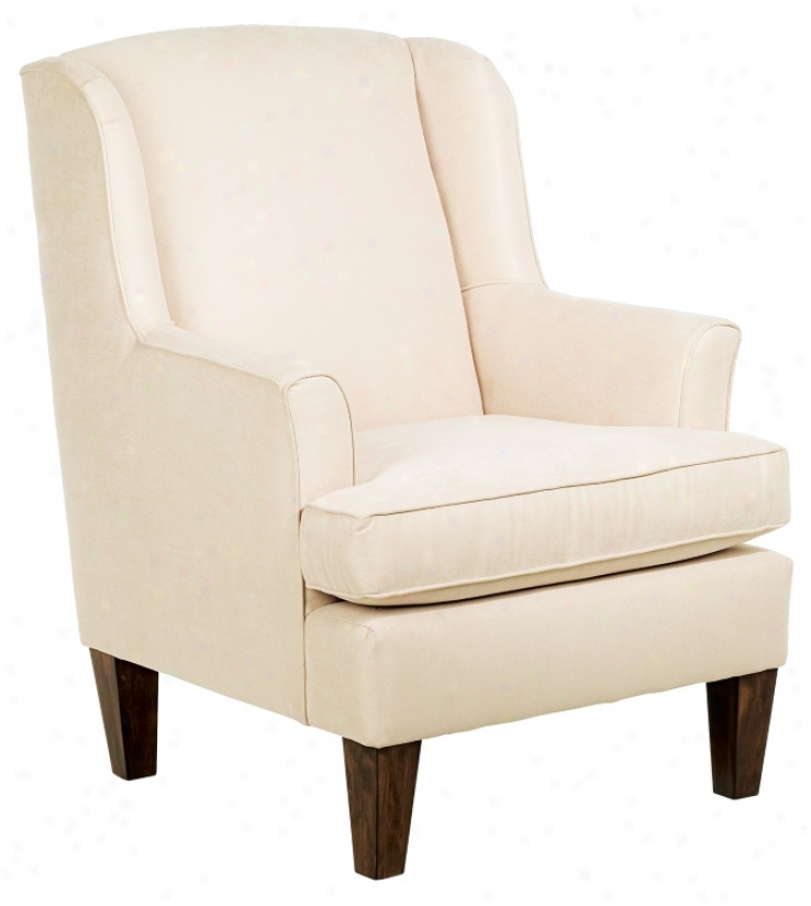 Geo Suede Microfiber Fabric Covered Wendy Armchair (h7862)