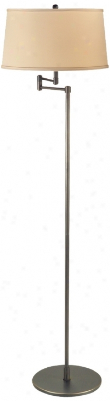 Geoffrey Mission Bronze Swing Arm Prevail over Lamp (u9395)