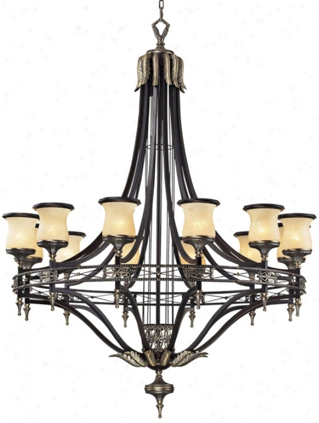 """Georgian Court Collection 48"""" Wide Large Chandelier (28436)"""