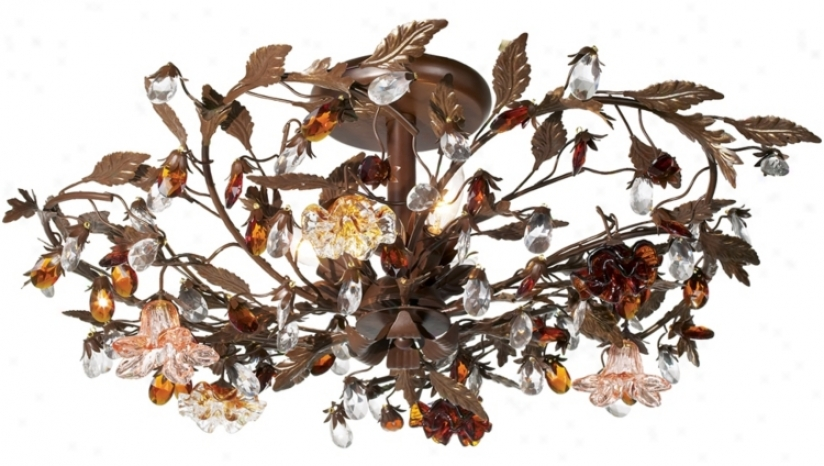 "Ghia Collection 27"" Wide Ceiling Light Fixture (81820)"