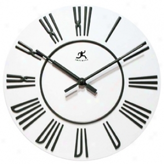 "Gibbons 14 3/4"" Wide Round Wall Clock (r6798)"