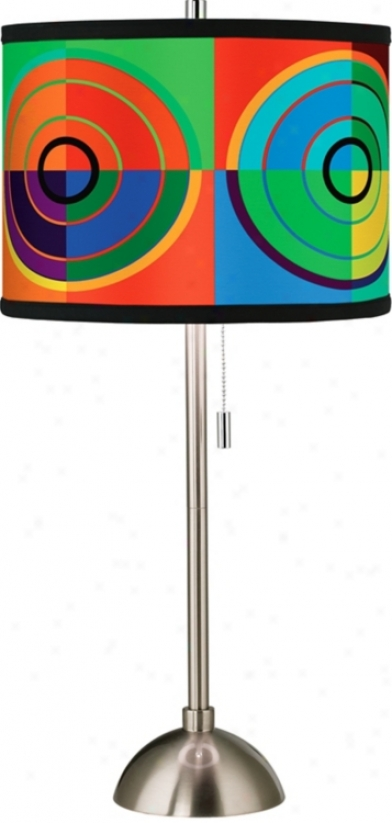 Giclee Cirfle Parade Table Lamp (60757-56892)