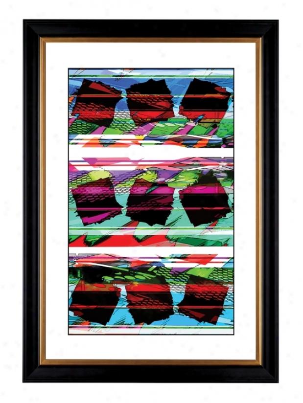 """Giclee Spumone Pattern 41 3/8"""" High Wall Art (17070-80384)"""