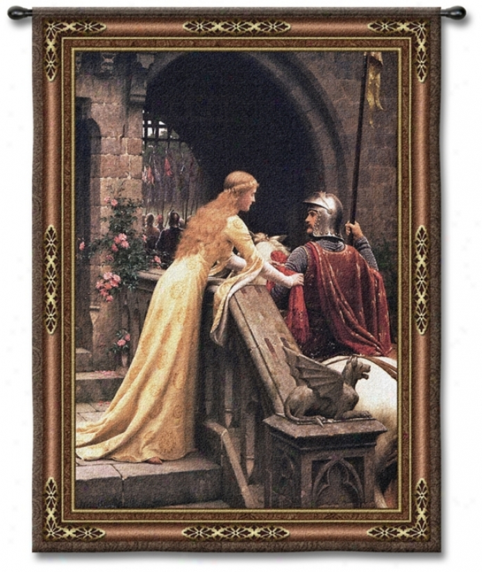 """Godspeed My Knight 53"""" Complete Wall Tapestry (j88888)"""
