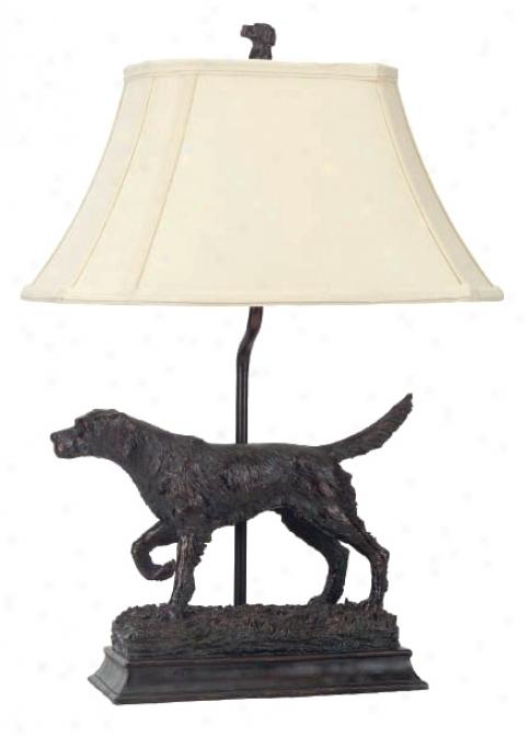 Golden Retriever Dog Table Lamp (74686)
