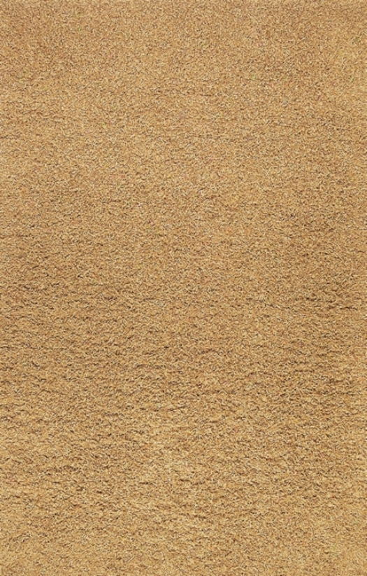 Golden Shag 4' X 6' Area Rug (08876)