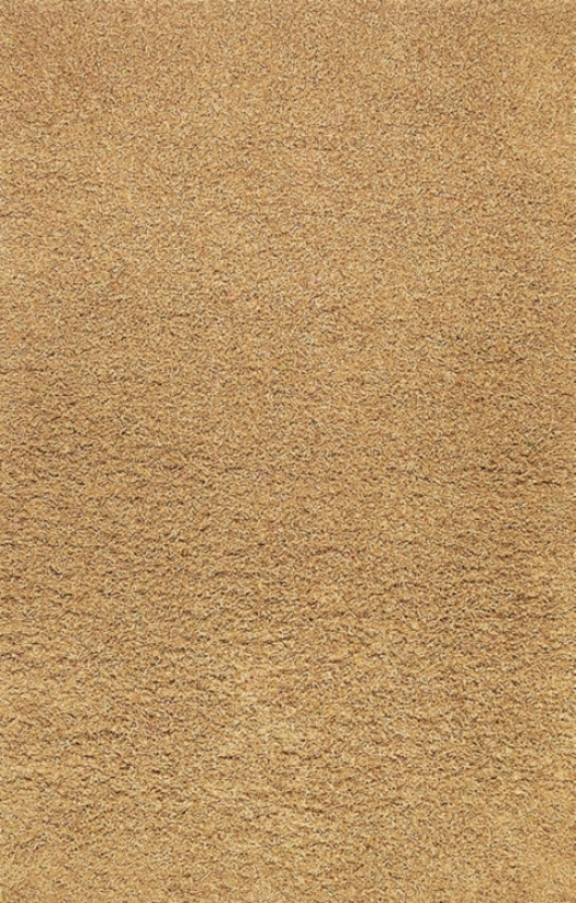 Golden Shag Area Rug (80631)