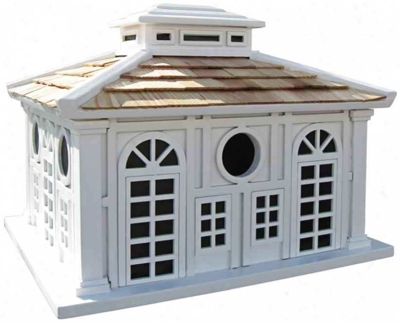 "Grand Pavillion 8"" High Bird Habitation (m8936)"
