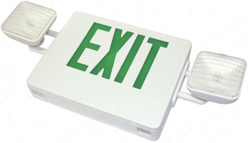 Gren Emergency Light Exit Sign (47667)