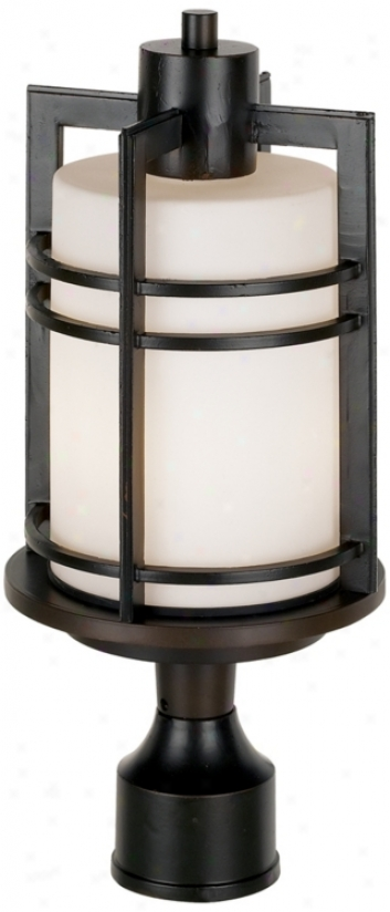 "Habitat Collection 17 1/2"" High Led Outdoor Post Light (58630-r9789)"