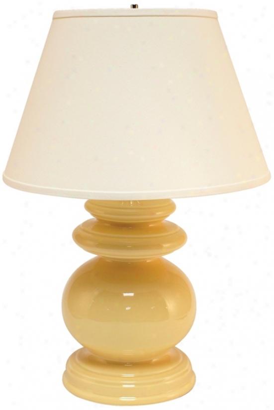 Haeger Potteries Saffron Cottage Ceramic Food Lamp (p1787)