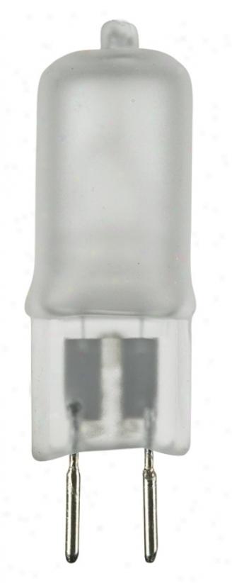 Halogen 35 Watt Bi-pin Frosted Bulb (61815)