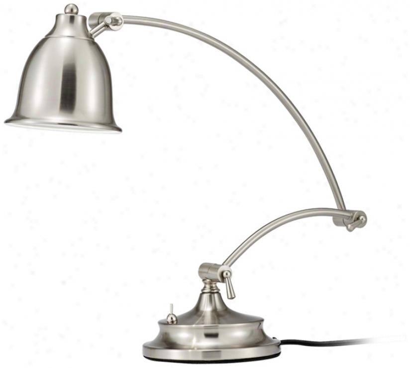 Harbinger Satin Case-harden Led Desk Lamp (u9136)