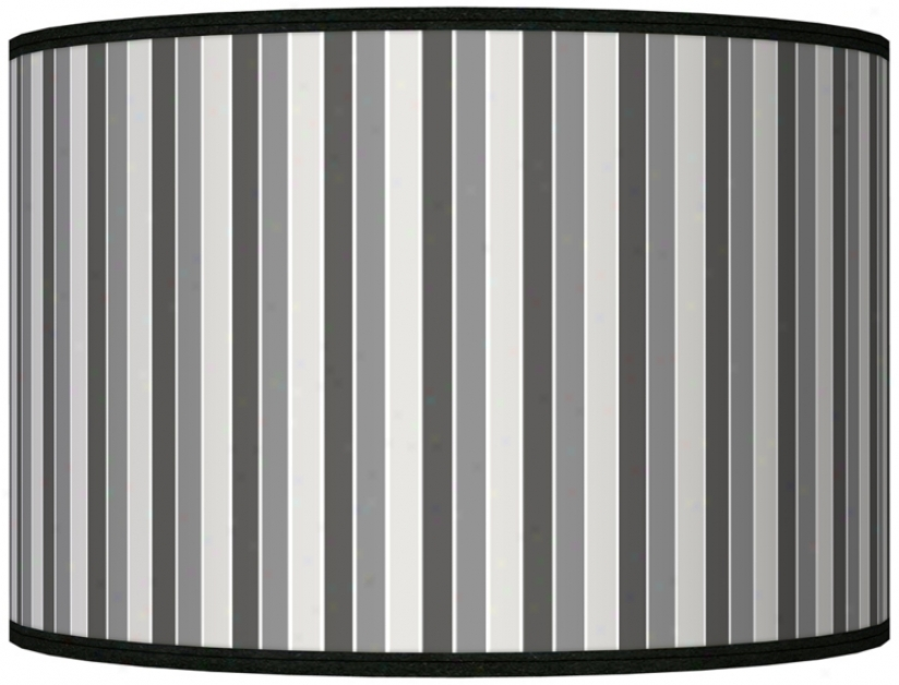Heath Stripes Gicled Shade 12x12x8.5 (spider) (j8517-k5438)