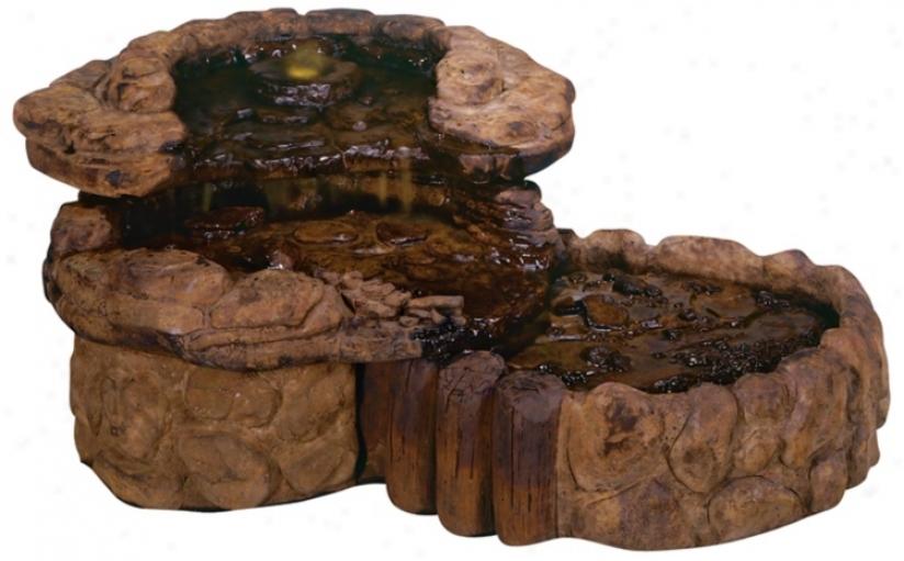 Henri Studios Pebble Shed Garden Fountain (06835)